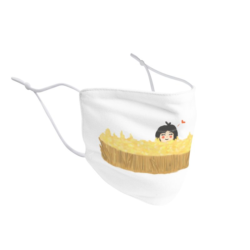 Sweet little girl Accessories Face Mask by DuMBSTRaCK CLoTH iNK PROJECT