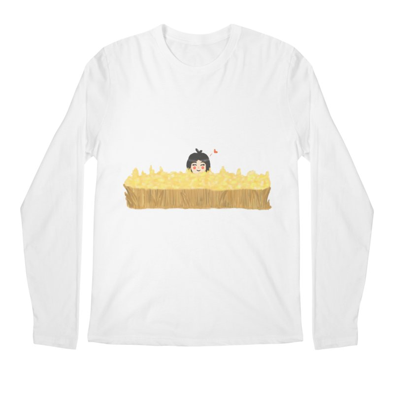 Sweet little girl Men's Longsleeve T-Shirt by DuMBSTRaCK CLoTH iNK PROJECT