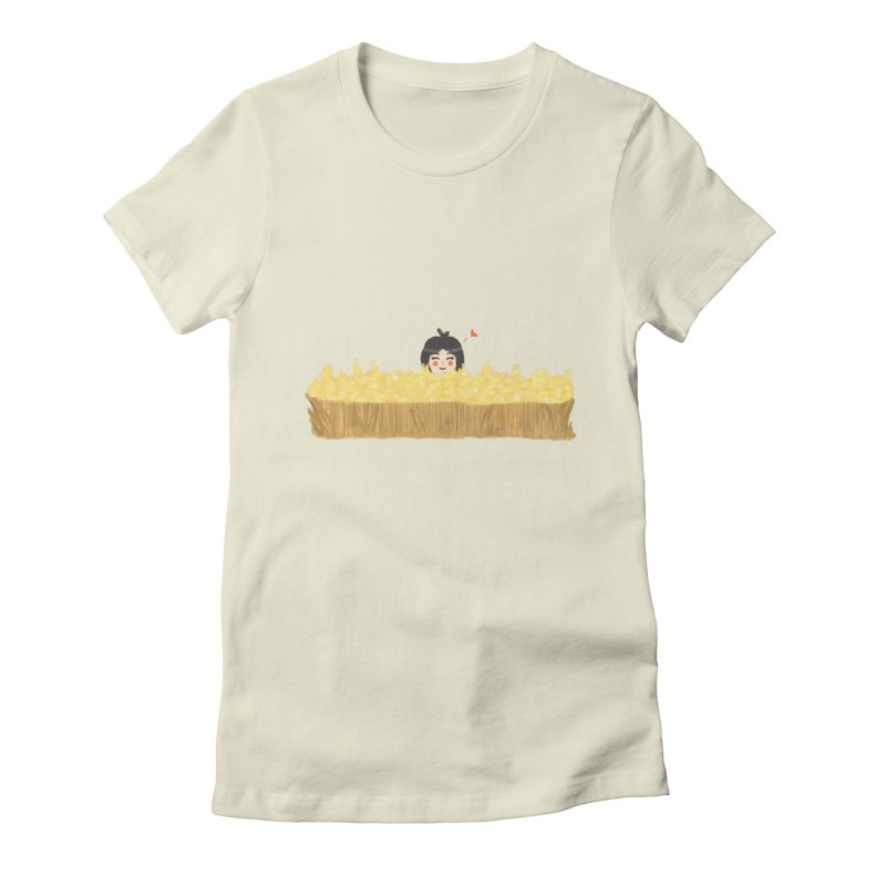 Sweet little girl Women's T-Shirt by DuMBSTRaCK CLoTH iNK PROJECT