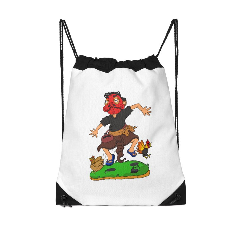 Chasing Chicken Accessories Bag by DuMBSTRaCK CLoTH iNK PROJECT