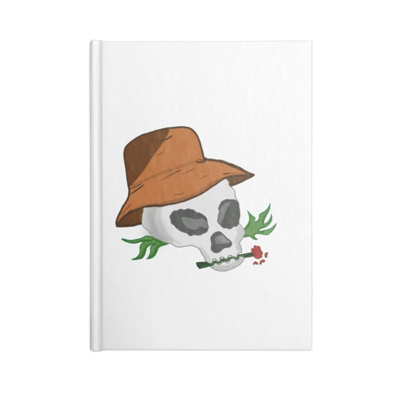 Rose Bone Accessories Notebook by DuMBSTRaCK CLoTH iNK PROJECT