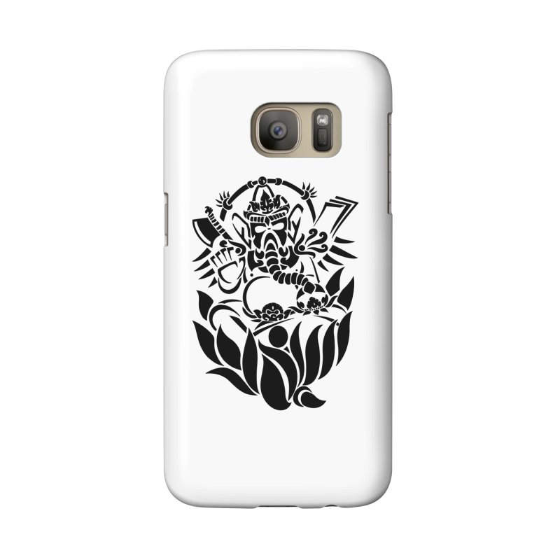 Ganesha One Black Accessories Phone Case by DuMBSTRaCK CLoTH iNK PROJECT