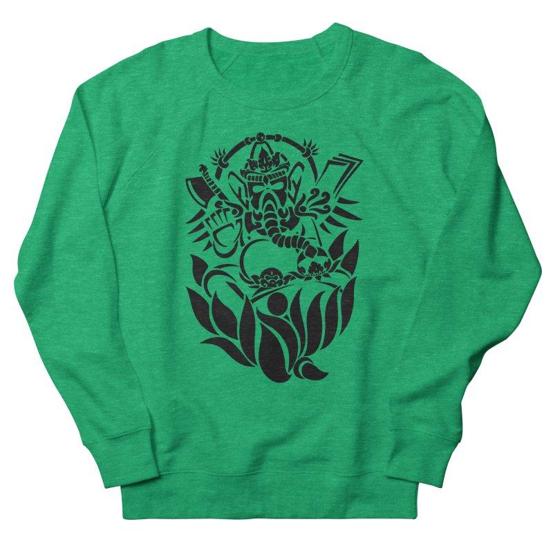 Ganesha One Black Women's Sweatshirt by DuMBSTRaCK CLoTH iNK PROJECT