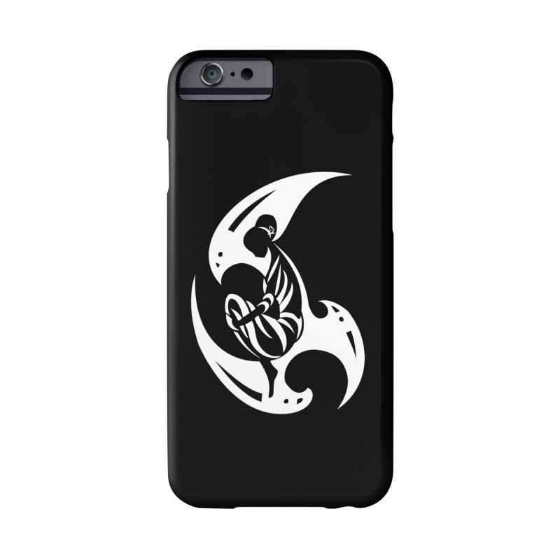 Lost In Thought White Accessories Phone Case by DuMBSTRaCK CLoTH iNK PROJECT