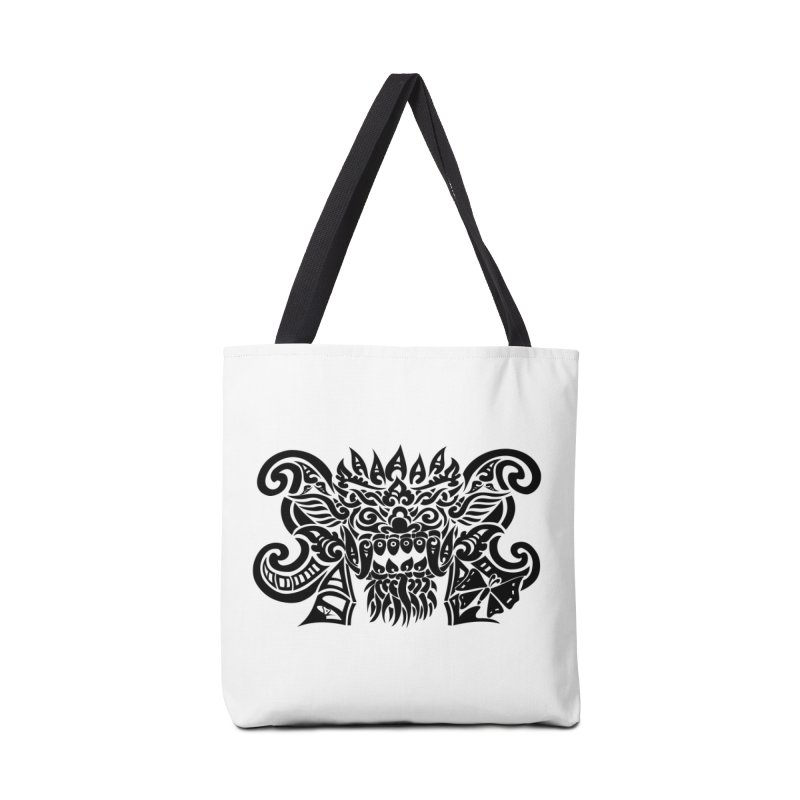 Barong One Black Accessories Tote Bag Bag by DuMBSTRaCK CLoTH iNK PROJECT