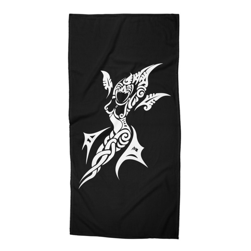 Mother One White Accessories Beach Towel by DuMBSTRaCK CLoTH iNK PROJECT