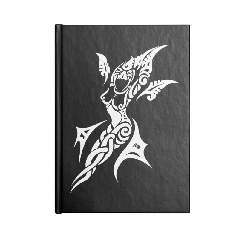 Mother One White Accessories Notebook by DuMBSTRaCK CLoTH iNK PROJECT