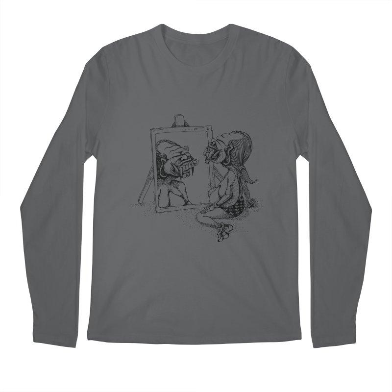Celuluk Gemini Men's Longsleeve T-Shirt by DuMBSTRaCK CLoTH iNK PROJECT