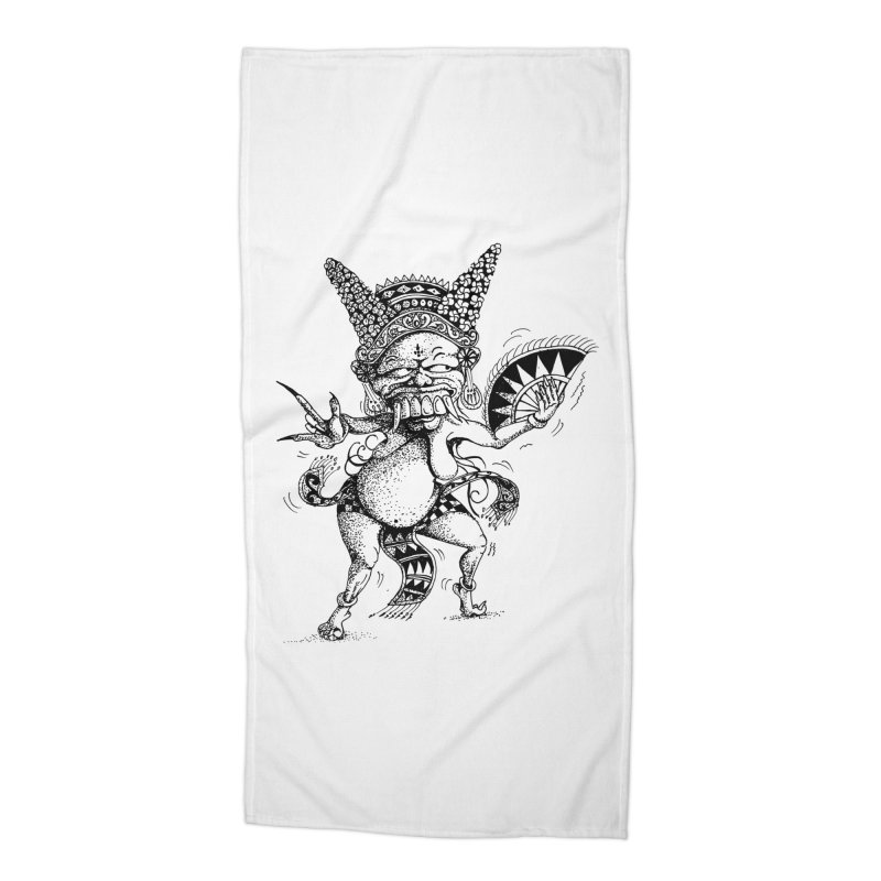 Celuluk Virgo Accessories Beach Towel by DuMBSTRaCK CLoTH iNK PROJECT