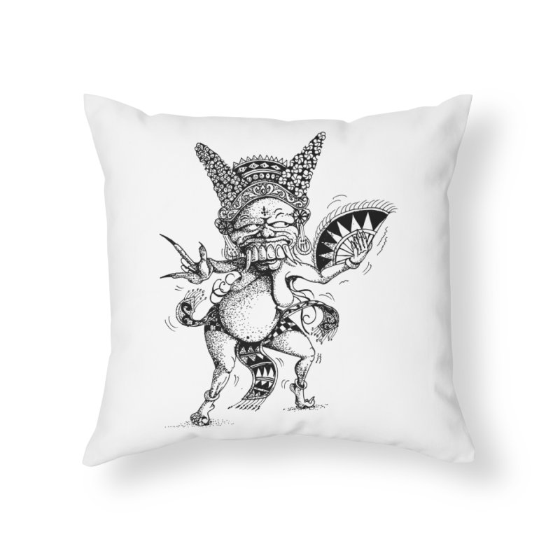 Celuluk Virgo Home Throw Pillow by DuMBSTRaCK CLoTH iNK PROJECT