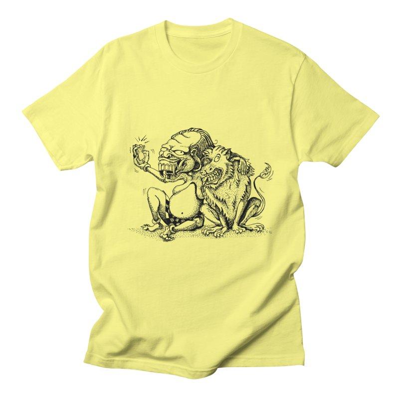 Celuluk Leo Men's T-Shirt by DuMBSTRaCK CLoTH iNK PROJECT