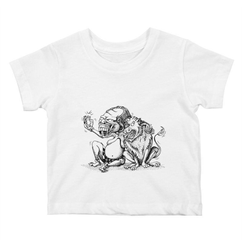 Celuluk Leo Kids Baby T-Shirt by DuMBSTRaCK CLoTH iNK PROJECT