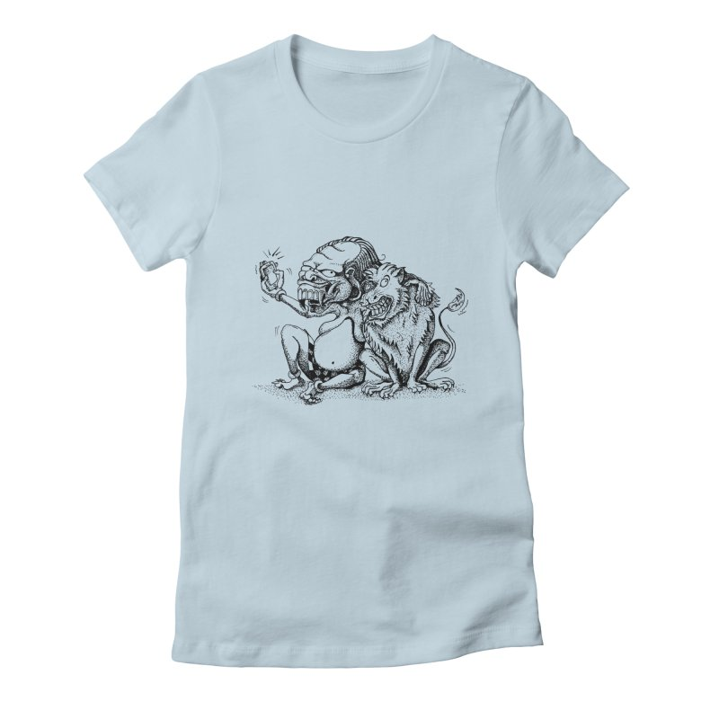 Celuluk Leo Women's T-Shirt by DuMBSTRaCK CLoTH iNK PROJECT