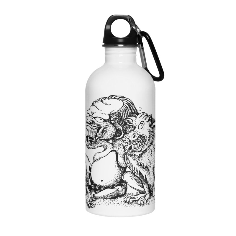 Celuluk Leo Accessories Water Bottle by DuMBSTRaCK CLoTH iNK PROJECT