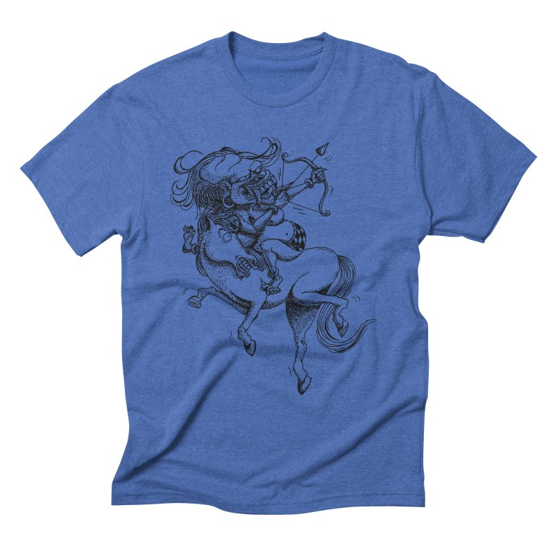Celuluk Sagitarius Men's T-Shirt by DuMBSTRaCK CLoTH iNK PROJECT