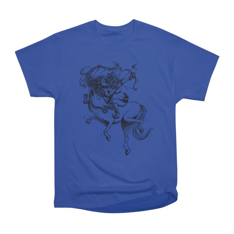 Celuluk Sagitarius Men's Heavyweight T-Shirt by DuMBSTRaCK CLoTH iNK PROJECT