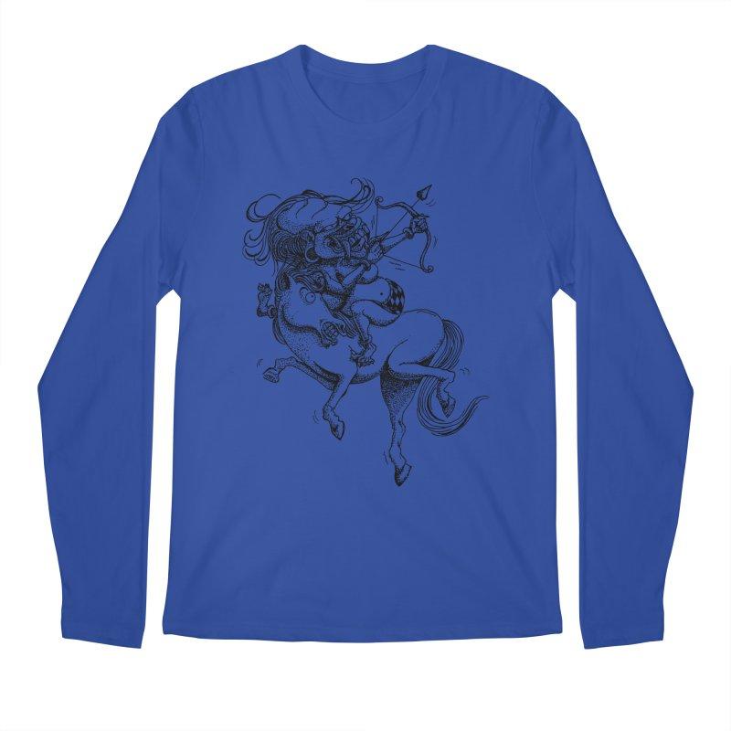 Celuluk Sagitarius Men's Longsleeve T-Shirt by DuMBSTRaCK CLoTH iNK PROJECT