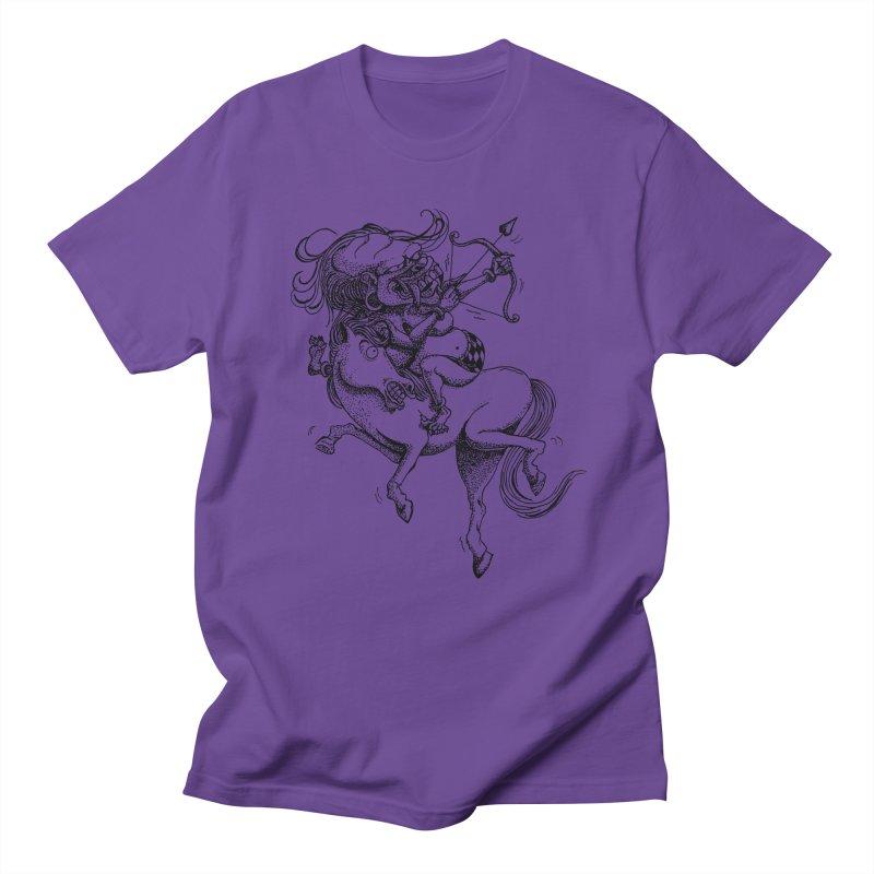 Celuluk Sagitarius Women's Regular Unisex T-Shirt by DuMBSTRaCK CLoTH iNK PROJECT