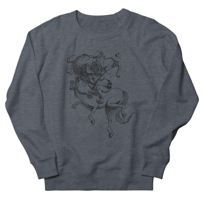 Celuluk Sagitarius Men's French Terry Sweatshirt by DuMBSTRaCK CLoTH iNK PROJECT