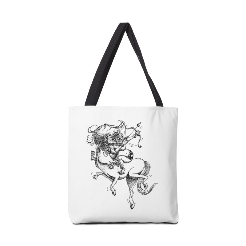 Celuluk Sagitarius Accessories Tote Bag Bag by DuMBSTRaCK CLoTH iNK PROJECT