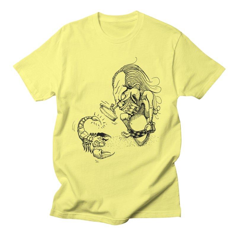 Celuluk Scorpio Men's T-Shirt by DuMBSTRaCK CLoTH iNK PROJECT