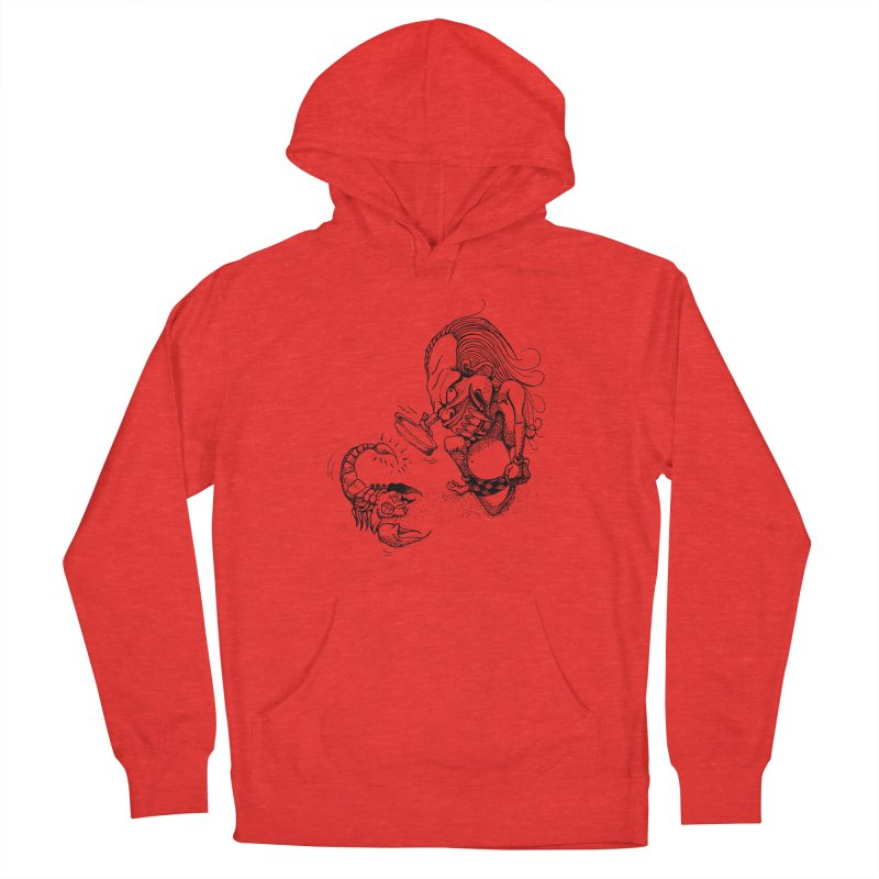 Celuluk Scorpio Men's Pullover Hoody by DuMBSTRaCK CLoTH iNK PROJECT