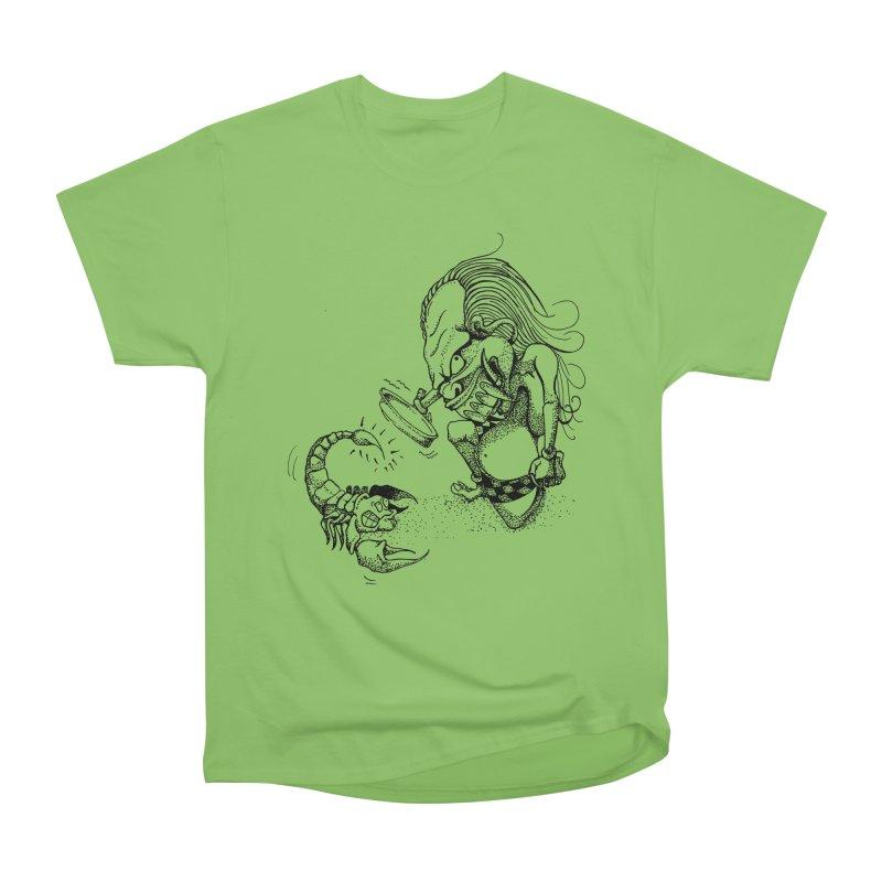 Celuluk Scorpio Women's Heavyweight Unisex T-Shirt by DuMBSTRaCK CLoTH iNK PROJECT