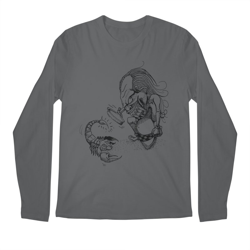 Celuluk Scorpio Men's Longsleeve T-Shirt by DuMBSTRaCK CLoTH iNK PROJECT