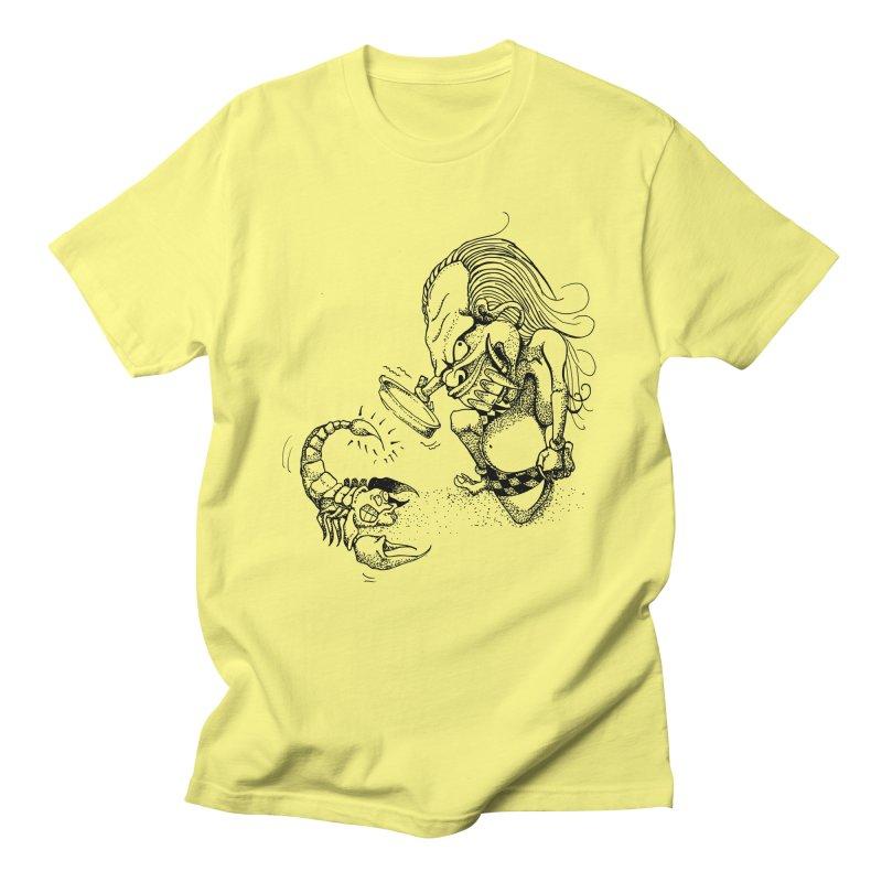 Celuluk Scorpio Men's Regular T-Shirt by DuMBSTRaCK CLoTH iNK PROJECT