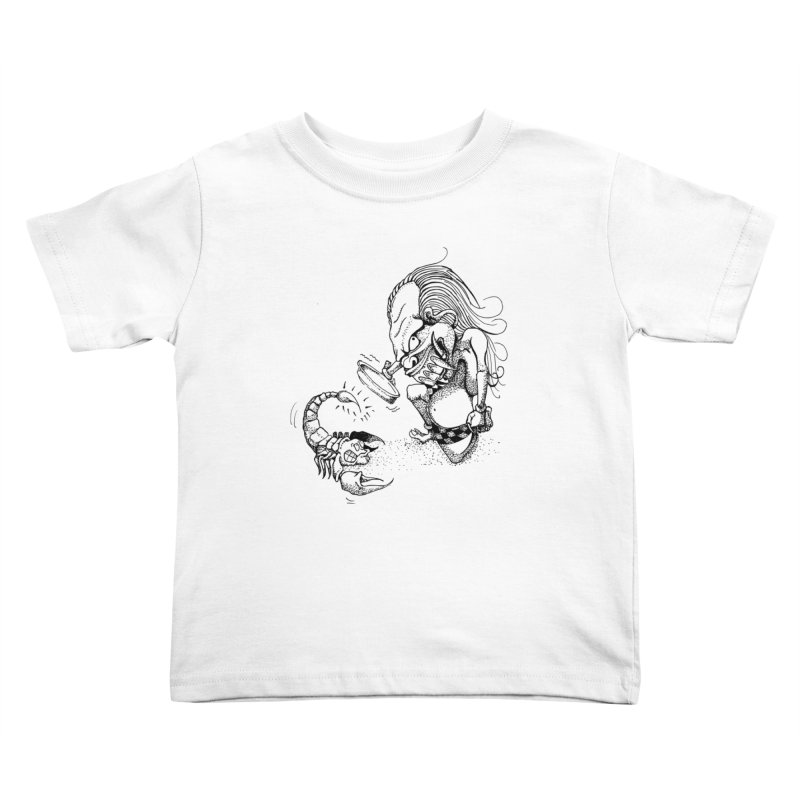Celuluk Scorpio Kids Toddler T-Shirt by DuMBSTRaCK CLoTH iNK PROJECT