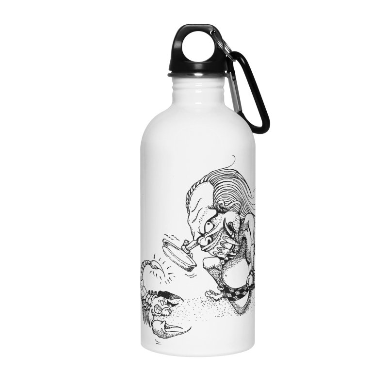 Celuluk Scorpio Accessories Water Bottle by DuMBSTRaCK CLoTH iNK PROJECT
