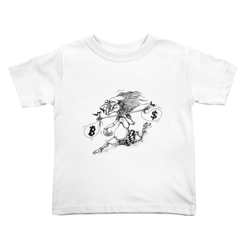 Celuluk Libra Kids Toddler T-Shirt by DuMBSTRaCK CLoTH iNK PROJECT