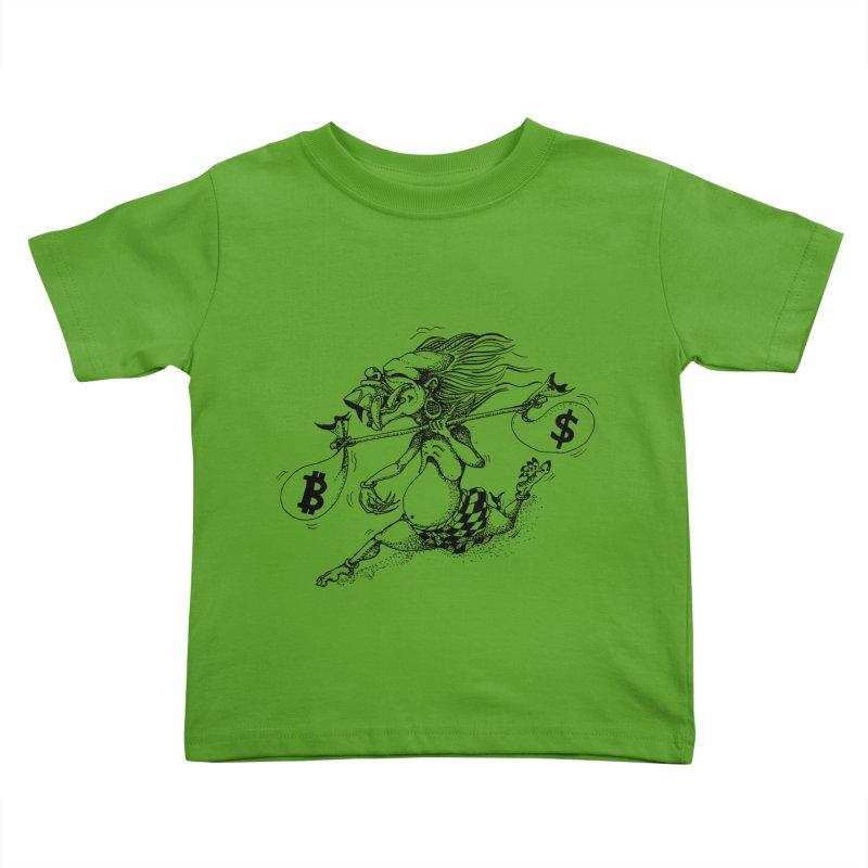 Celuluk Libra Kids Toddler T-Shirt by DuMBSTRaCK CLoTH iNK PROJECT