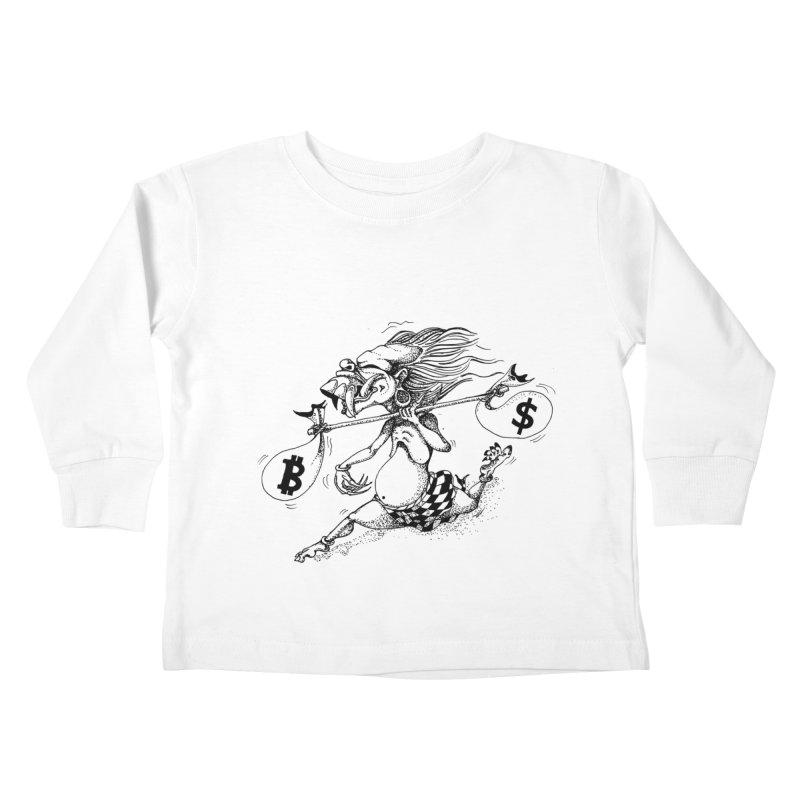 Celuluk Libra Kids Toddler Longsleeve T-Shirt by DuMBSTRaCK CLoTH iNK PROJECT