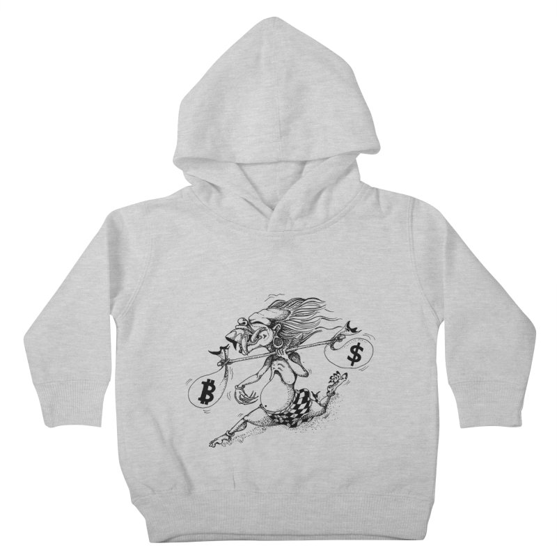 Celuluk Libra Kids Toddler Pullover Hoody by DuMBSTRaCK CLoTH iNK PROJECT