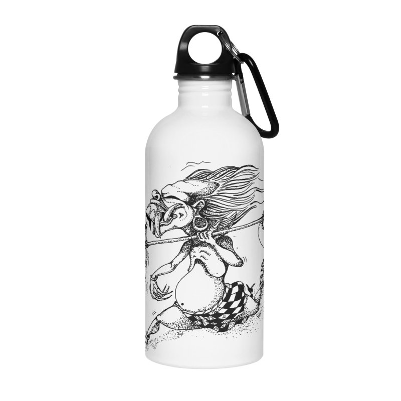 Celuluk Libra Accessories Water Bottle by DuMBSTRaCK CLoTH iNK PROJECT