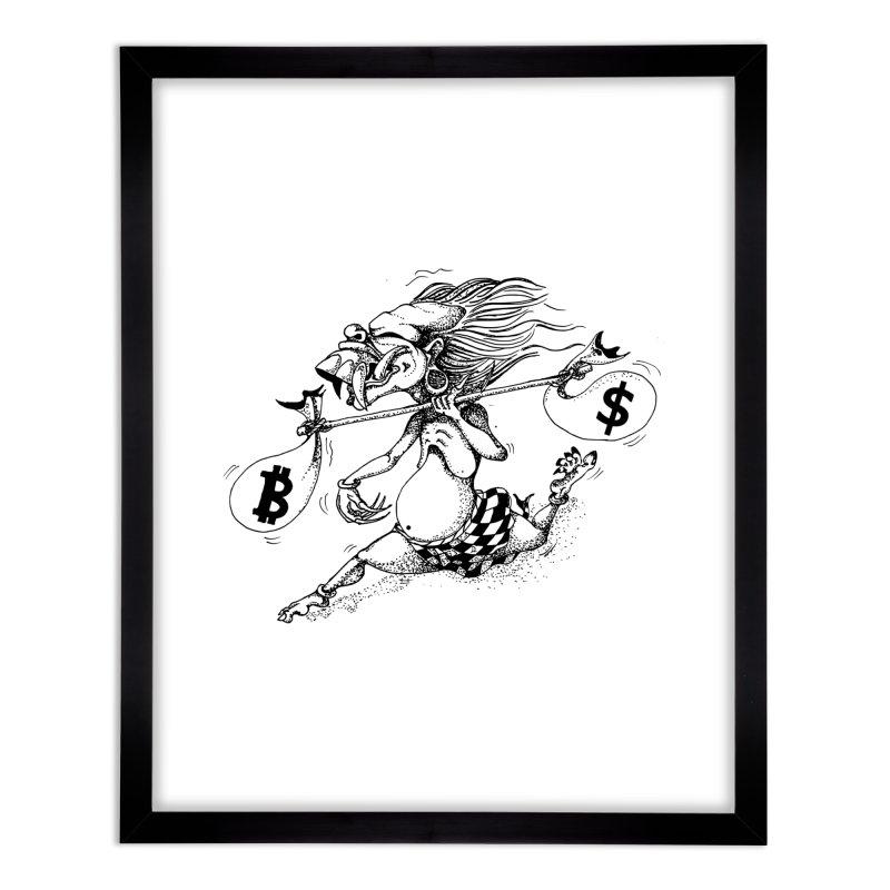 Celuluk Libra Home Framed Fine Art Print by DuMBSTRaCK CLoTH iNK PROJECT