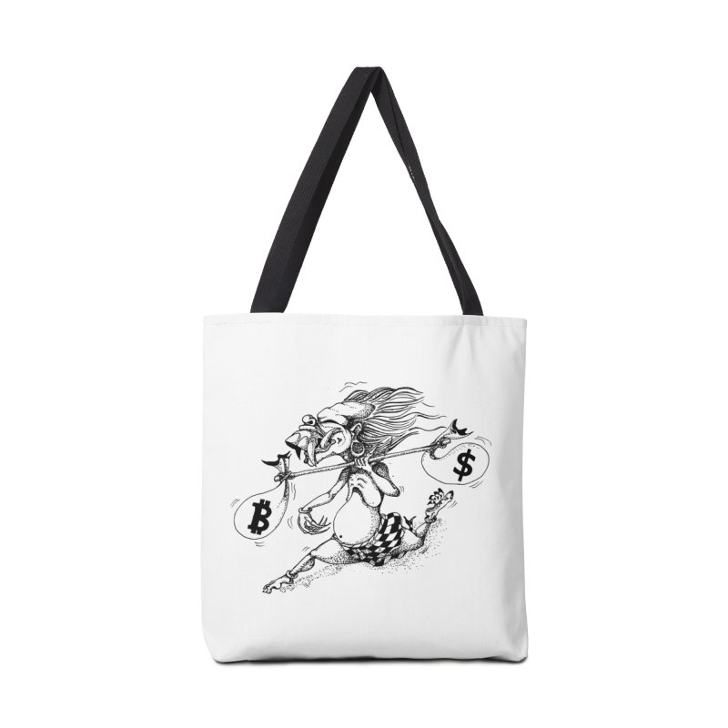 Celuluk Libra Accessories Tote Bag Bag by DuMBSTRaCK CLoTH iNK PROJECT