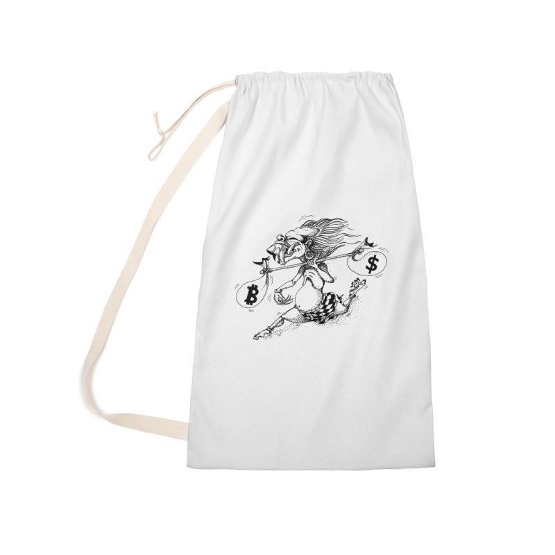 Celuluk Libra Accessories Bag by DuMBSTRaCK CLoTH iNK PROJECT