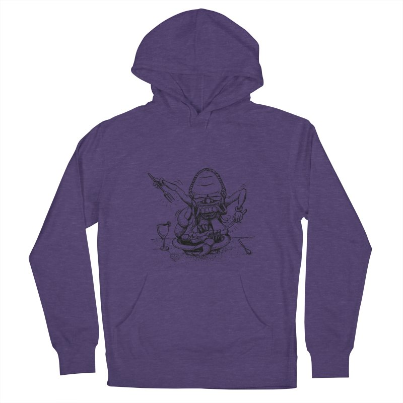 Celuluk Cancer Women's French Terry Pullover Hoody by DuMBSTRaCK CLoTH iNK PROJECT