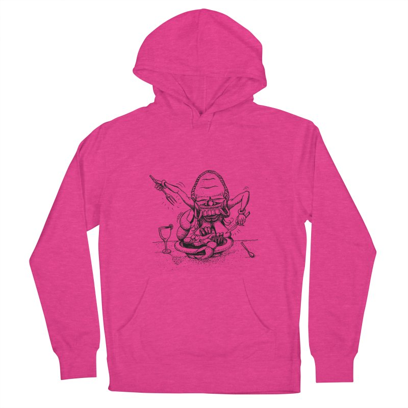 Celuluk Cancer Men's French Terry Pullover Hoody by DuMBSTRaCK CLoTH iNK PROJECT