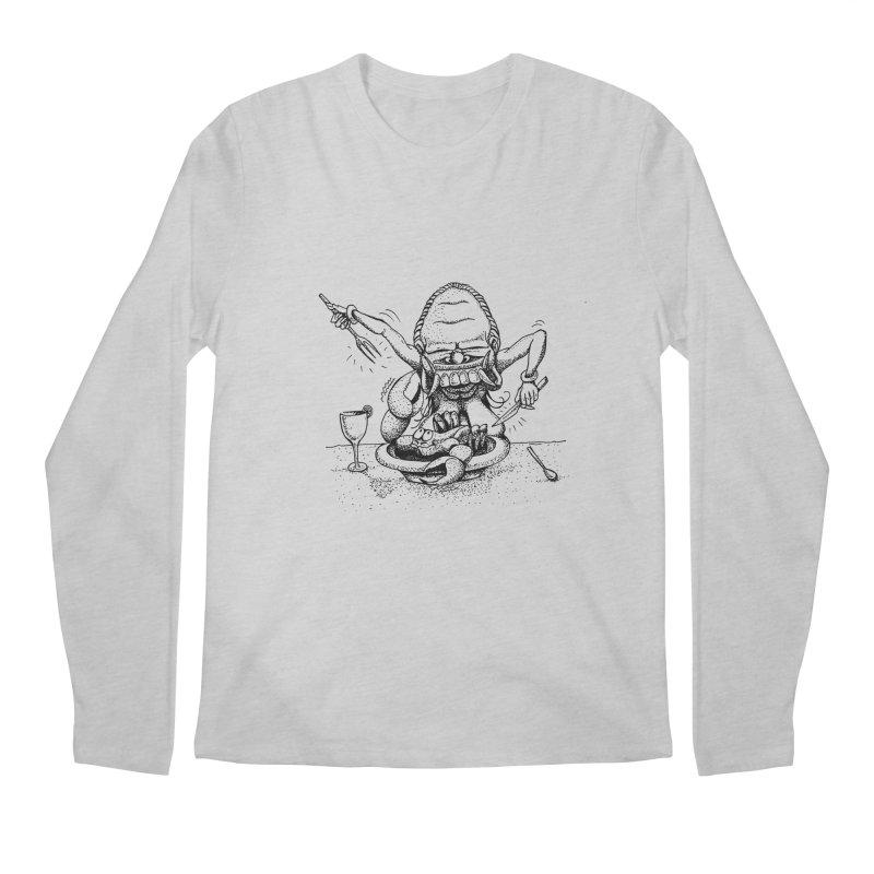 Celuluk Cancer Men's Longsleeve T-Shirt by DuMBSTRaCK CLoTH iNK PROJECT