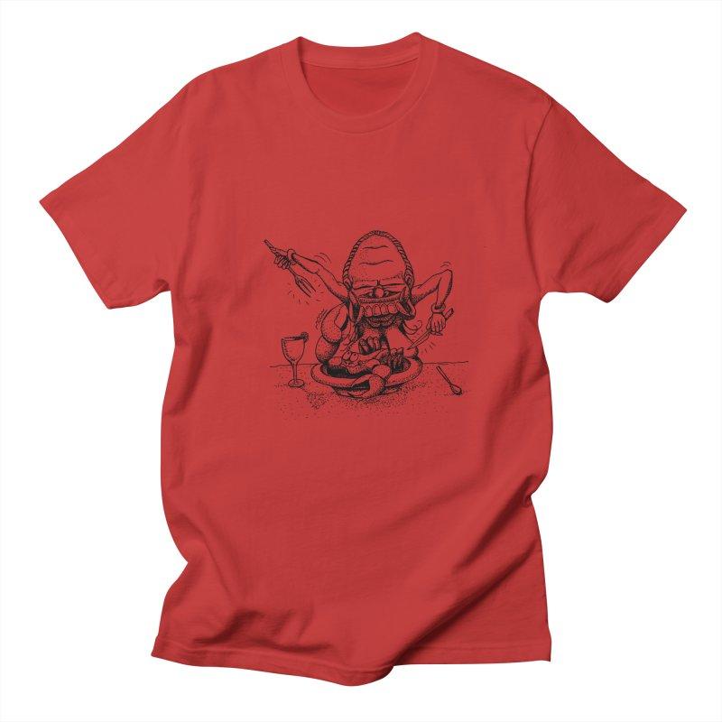 Celuluk Cancer Men's T-Shirt by DuMBSTRaCK CLoTH iNK PROJECT