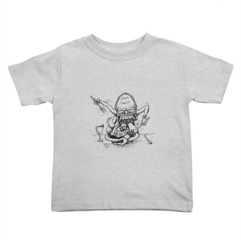 Celuluk Cancer Kids Toddler T-Shirt by DuMBSTRaCK CLoTH iNK PROJECT