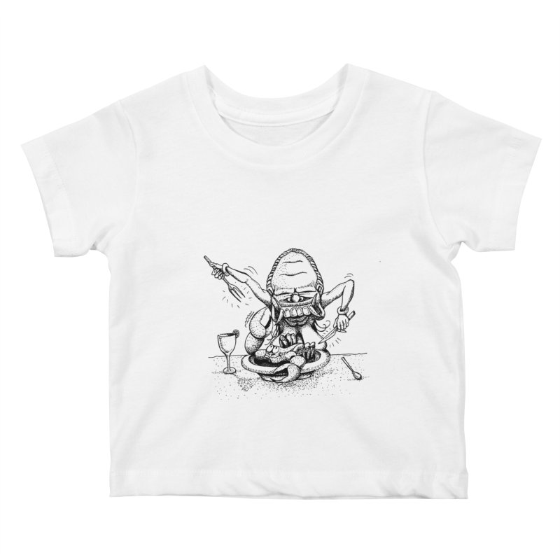 Celuluk Cancer Kids Baby T-Shirt by DuMBSTRaCK CLoTH iNK PROJECT