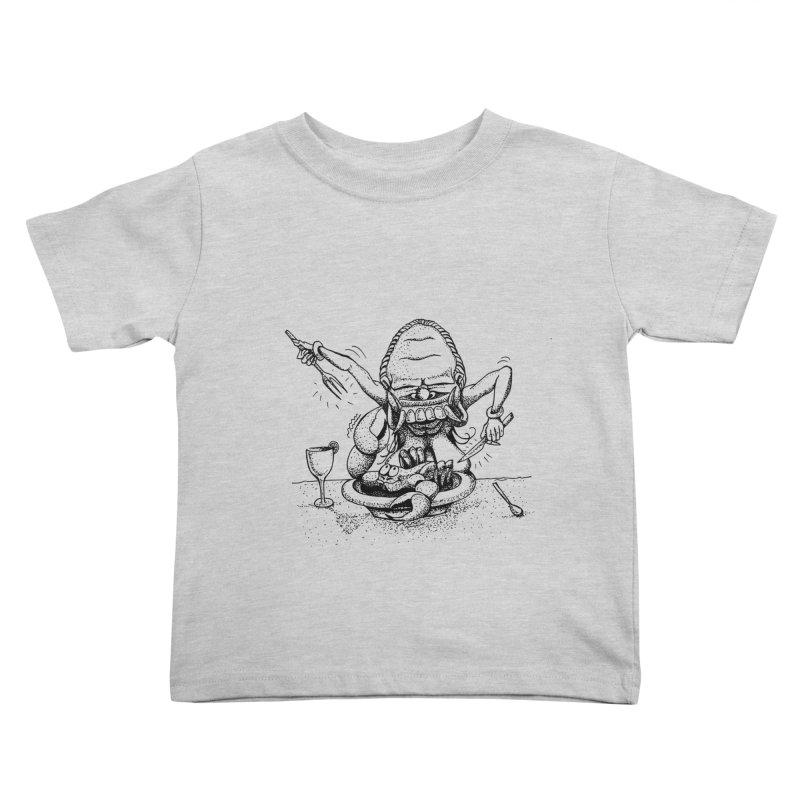 Celuluk Cancer Kids Toddler T-Shirt by DuMBSTRaCK CLoTH iNK PROJECT