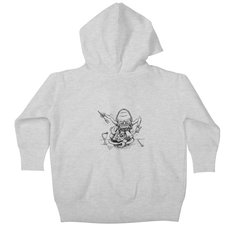Celuluk Cancer Kids Baby Zip-Up Hoody by DuMBSTRaCK CLoTH iNK PROJECT