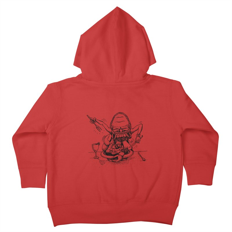 Celuluk Cancer Kids Toddler Zip-Up Hoody by DuMBSTRaCK CLoTH iNK PROJECT