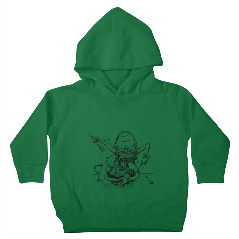Celuluk Cancer Kids Toddler Pullover Hoody by DuMBSTRaCK CLoTH iNK PROJECT
