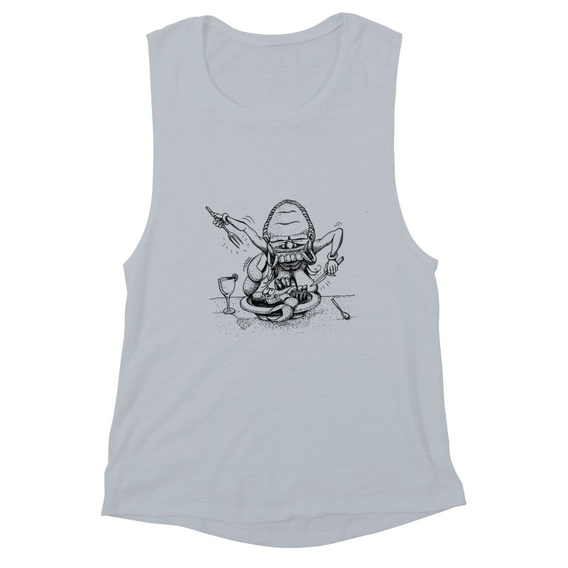 Celuluk Cancer Women's Muscle Tank by DuMBSTRaCK CLoTH iNK PROJECT